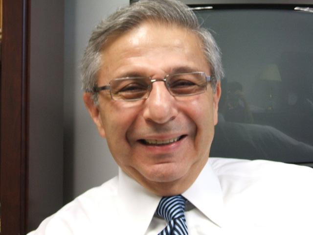 Retiring MSU Director of Orchestras, Leon Gregorian.