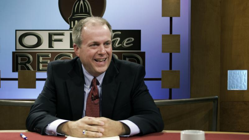 Brian Broderick of the MI Assoc. of Non-Public Schools, appearing on Off the Record with Tim Skubick.