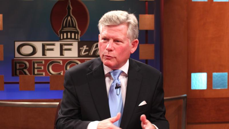 Representative Mark Ouimet-R of Ann Arbor, appearing on Off the Record with Tim Skubick.