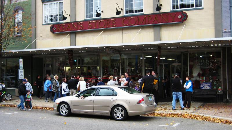 Kean's Store in Mason, Michigan.