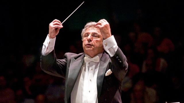 MSU Director of Orchestras, Leon Gregorian.