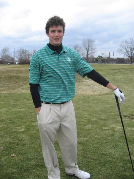 MSU golfer Jack Newman