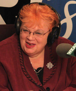 Lansing mayoral candidate Carol Wood answers listeners' calls on AM870 on Oct. 20, 2009.