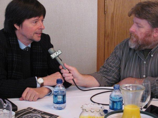 WKAR's Rob South interviews acclaimed documentary filmmaker Ken Burns during his visit to MSU.