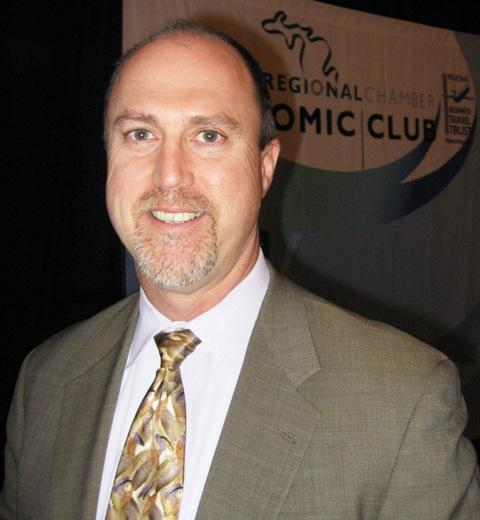 PNC Senior Economist Robert Dye spoke Thursday before the Lansing Economic Club.