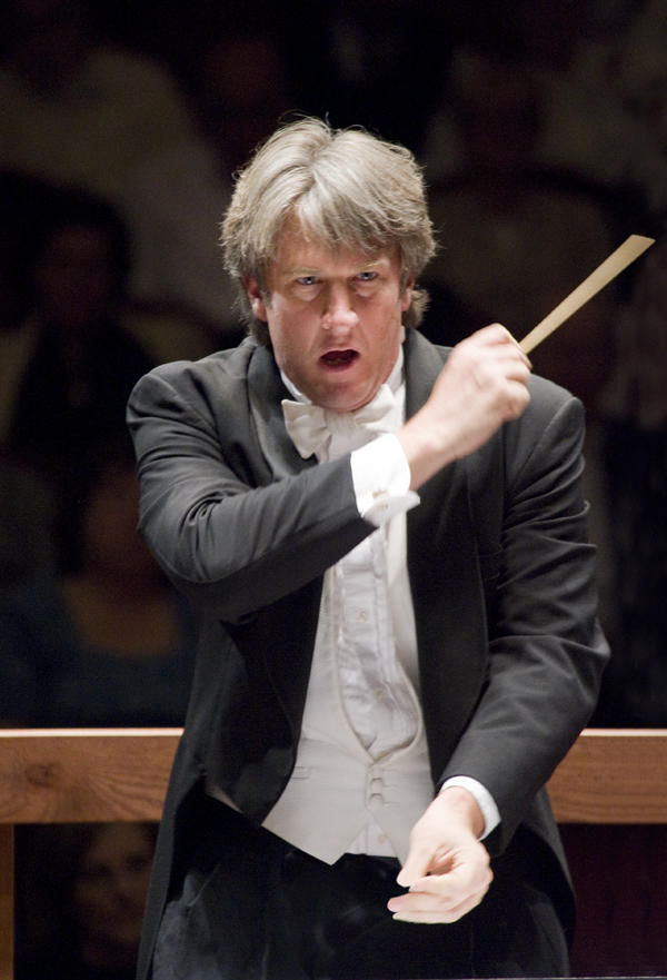 Lansing Symphony Orchestra conductor and music director, Timothy Muffitt.