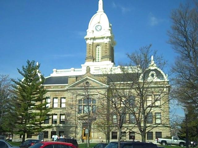 The Ingham County Courthouse, Mason.