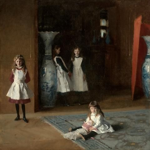 """John Singer Sargent's \""""The Daughters of Edward Darley Boit\"""" (1882)."""