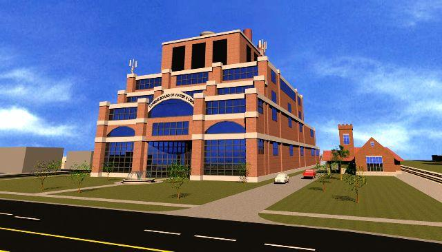 The BWL's new co-generation plant will use natural gas to create steam and electric power.