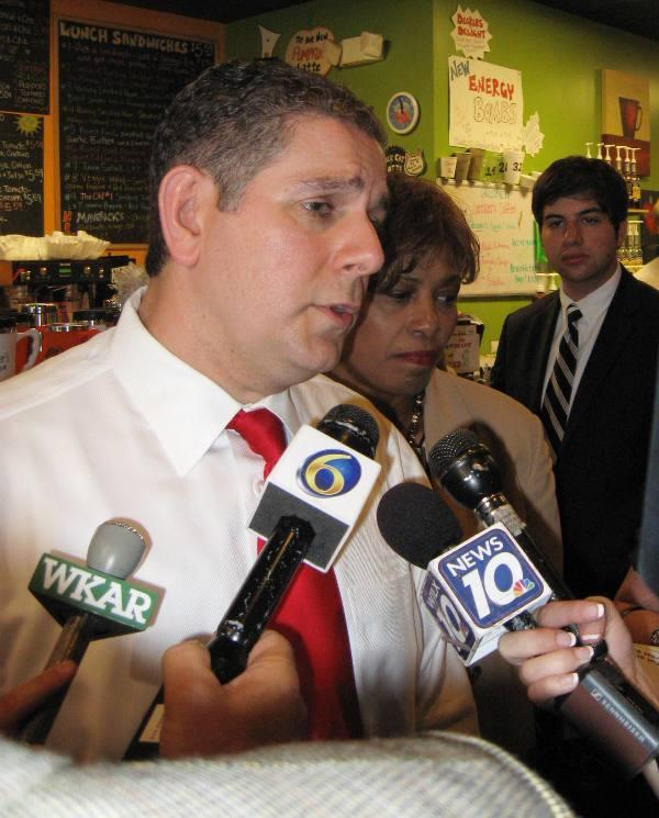 Lansing mayor Virg Bernero is touting four straight years of population growth.