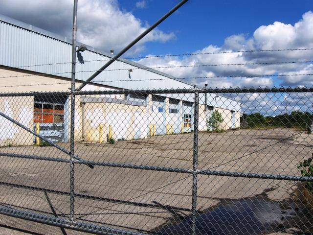 The former East Lansing Public Works facility.  Photo: Kevin Lavery/WKAR