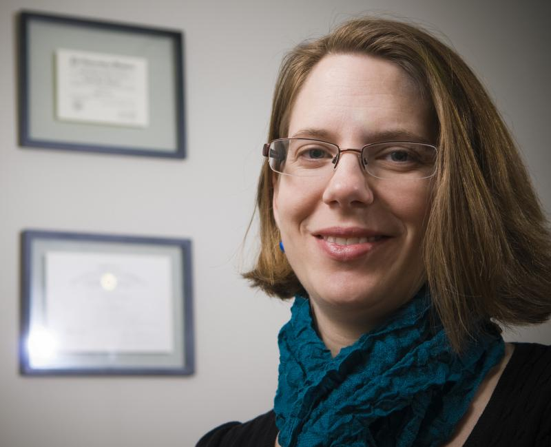 Michigan State University assistant professor of psychology Brooke Ingersoll.