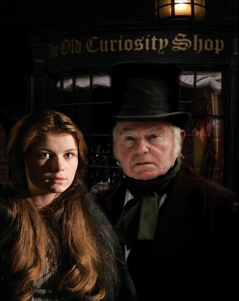 "Sophie Vavasseur and Derek Jacobi star in ""The Old Curiosity Shop"" by Charles Dickens."