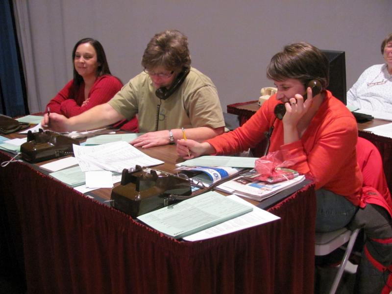 Volunteers make a big difference during WKAR's pledge drives!