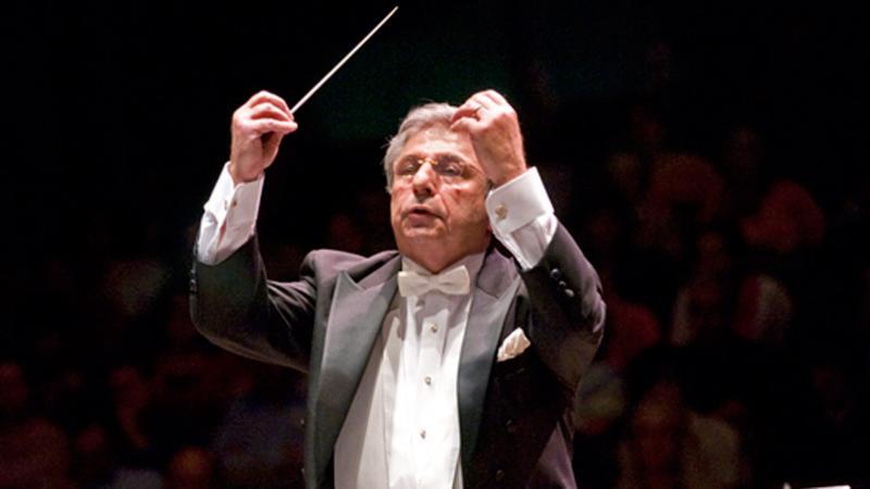 MSU Director of Orchestras Leon Gregorian