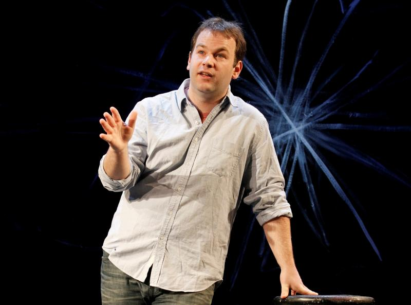 Comedian and author Mike Birbiglia.