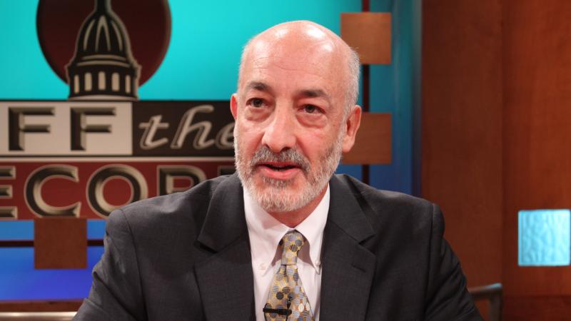 Matthew Abel, attorney, appearing on Off the Record with Tim Skubick.