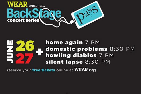 poster: BackStage Pass Concert Series June 26 & 27