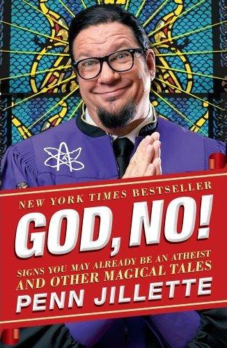Penn Jillette will talk about his latest book at the Hannah Center in East Lansing tonight.