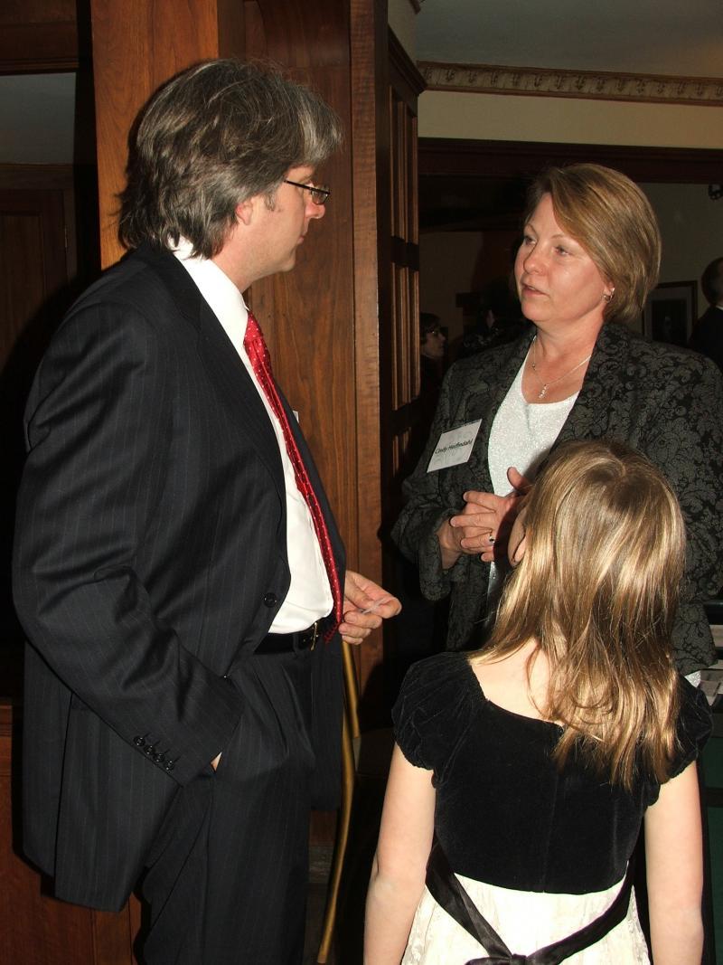 Cindy Herfindahl, Timothy and Clara Muffitt