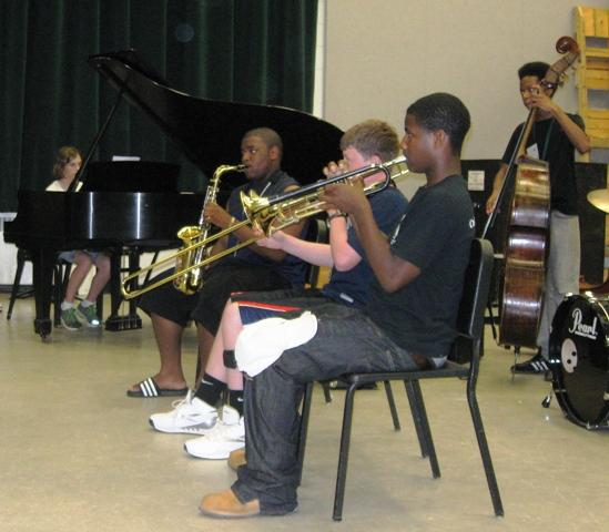 Local middle and high school students are completing a week-long jazz camp at Michigan State University.  They'll cap their studies Friday evening with a live performance at the Summer Solstice Jazz Festival in East Lansing.