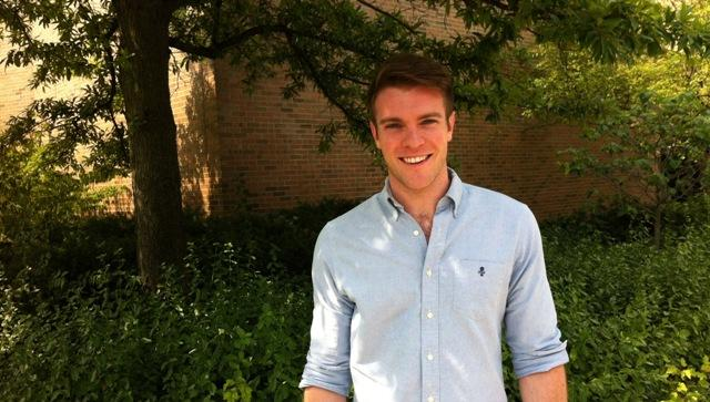 """Billy Tighe stars as Fiyero in the production of """"Wicked,"""" now at the Wharton Center."""