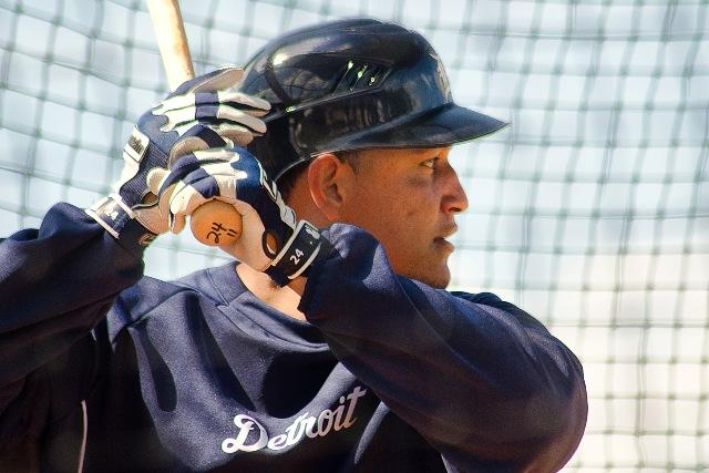 Miguel Cabrera leads Detroit with 18 homers. He's hitting .324.