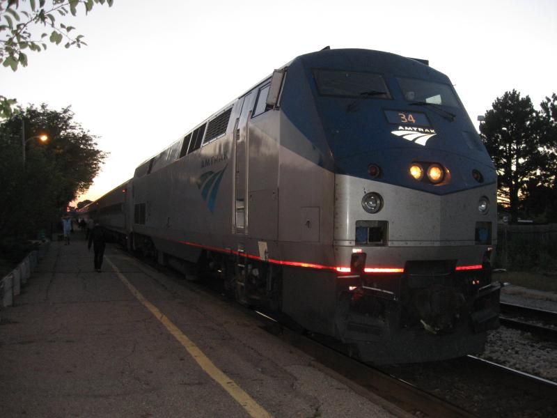 The East Lansing Amtrak station near the MSU campus has seen a 130 percent increase in ridership since 2001.