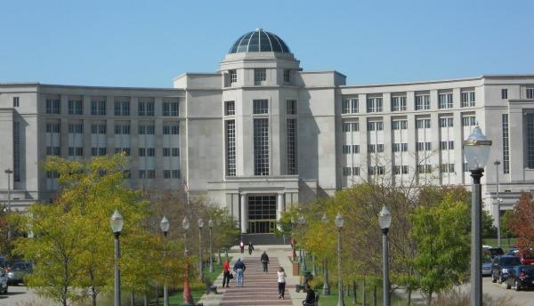 The Michigan Supreme Court building.
