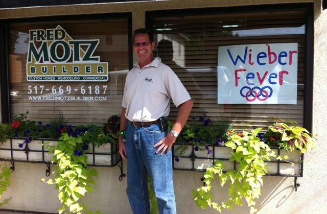 Fred Motz of Fred Motz Builder, Dewitt.