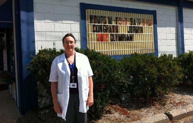 DeWitt Pharmacy manager Patty Wagner.