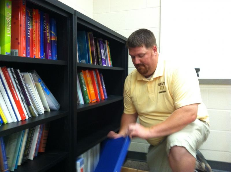 This school year, Holt Schools' educator Sean Carmody is helping other area teachers learn 'formative assessment.'