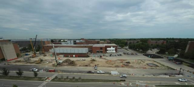 At the FRIB website, webcams monitor construction progress.