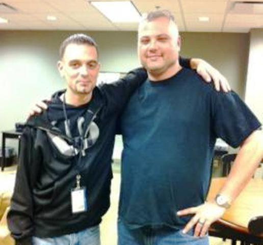 Brad Eifert (right), underwent therapy in Rochester, NY for PTSD.  Eifert was found dead Tuesday in a motel in Lansing Township.  He was 37.