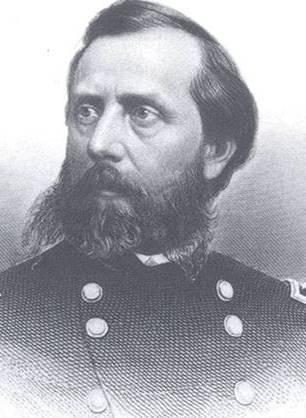 Gen. Orlando Willcox guided the fighting at the famed Burnside Bridge.