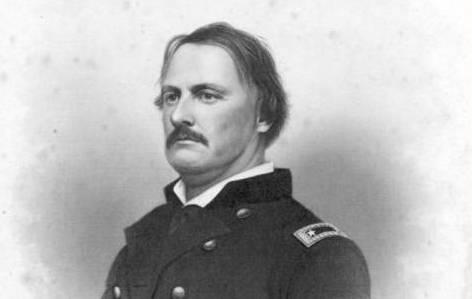 Gen. Israel Richardson was wounded at Antietam, and never recovered.