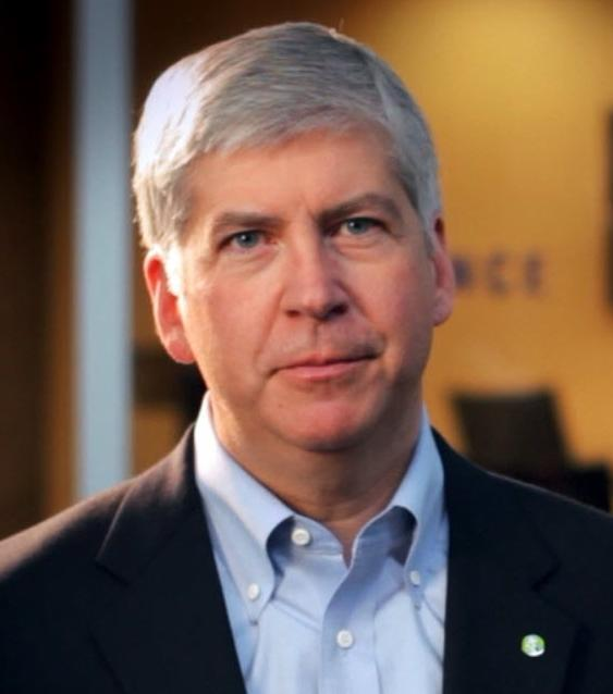 Photo of Michigan Governor Rick Snyder.