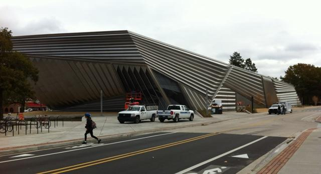 The Broad Art Museum will open at Michigan State University in November.