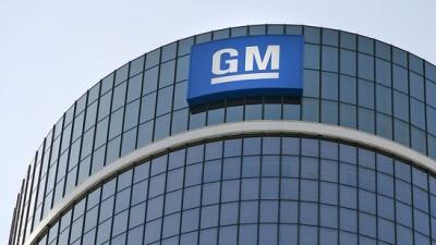 GM headquarters in Detroit.