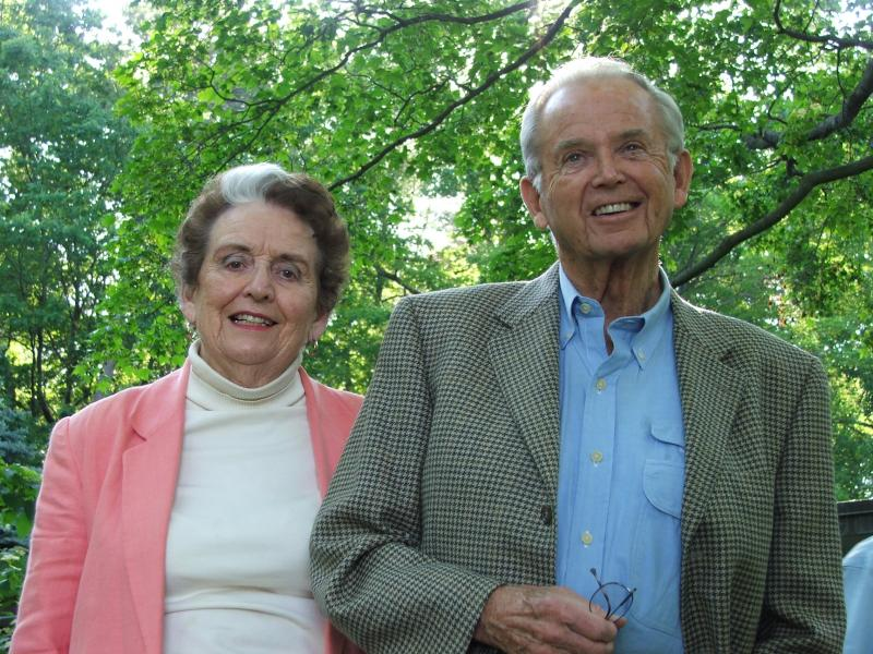 The Millikens at their Traverse City home.