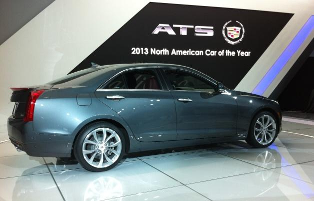 The Lansing-built Cadillac ATS was named North American Car of the Year at the Detroit Auto Show.