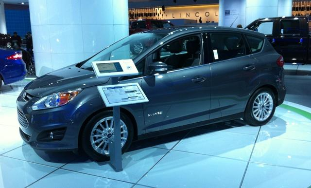 Ford is high on the C-Max hybrid.