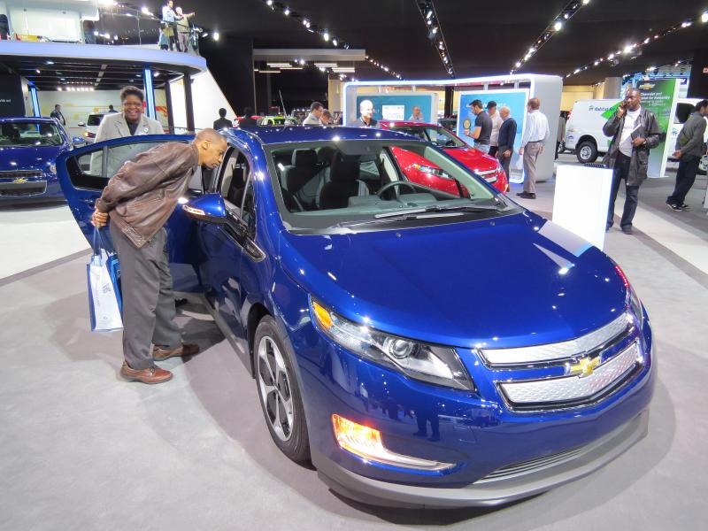 "The newest Volt ""plug-in"" from Chevrolet"