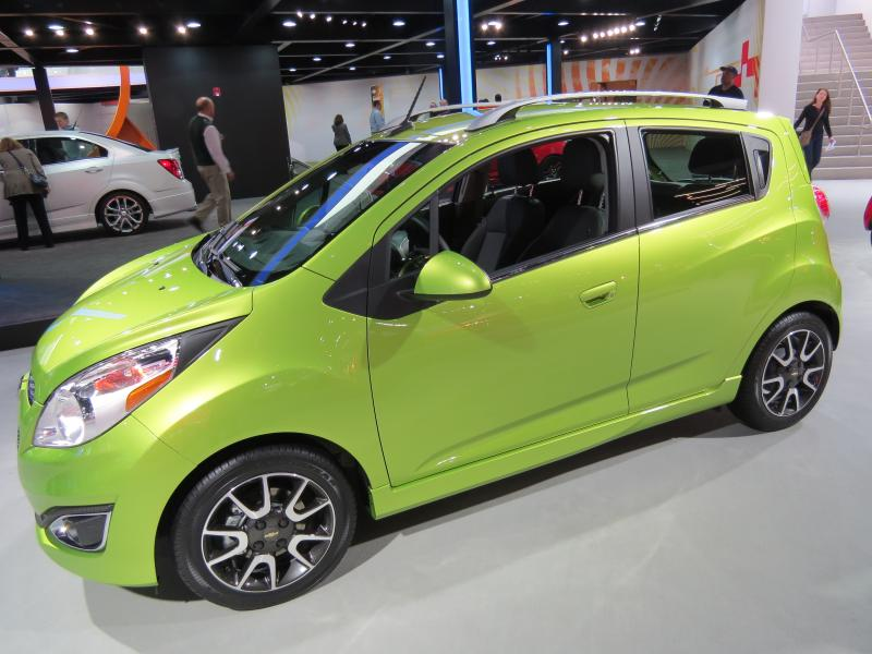 Chevrolet's new entry-level electric, the Spark