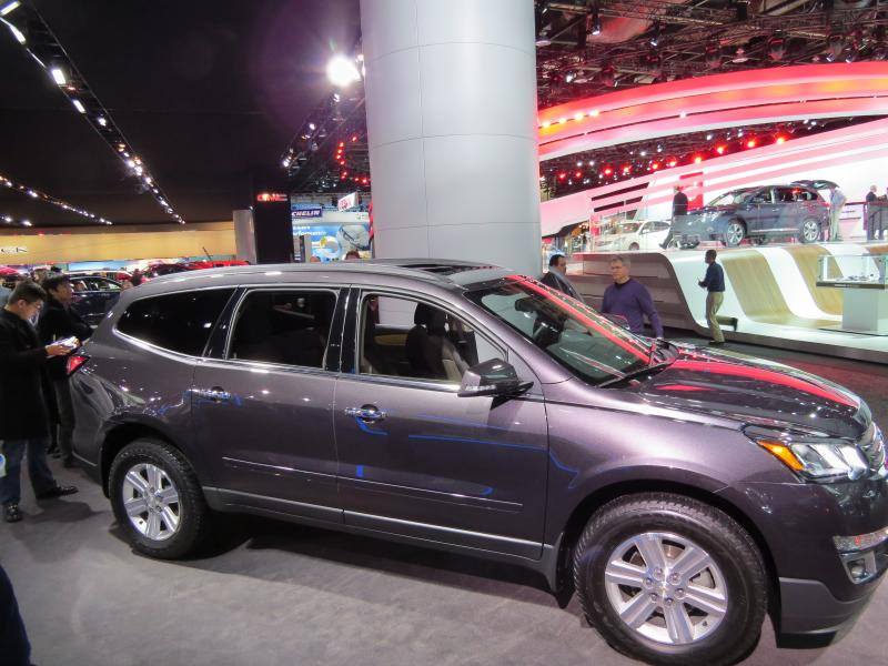 The Lansing-built Chevy Traverse