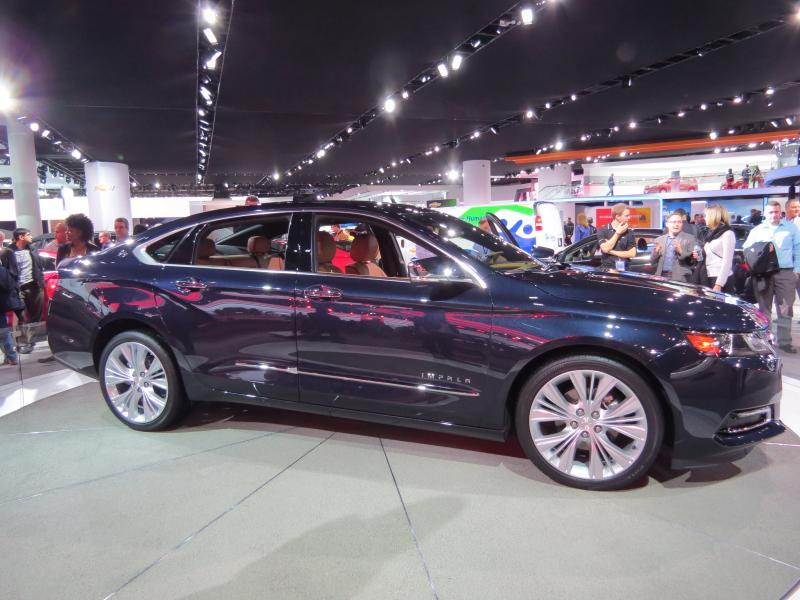 The new Chevrolet Impala