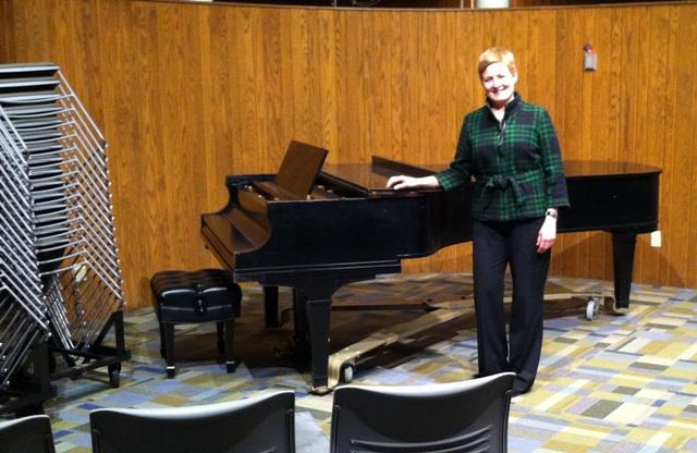 MSU Community Music School Executive Director Rhonda Buckley in the school's new performance hall
