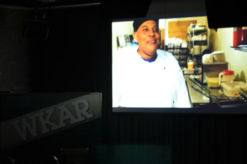 "Viewers watched a segment from ""Soul Food Junkies"" prior to the discussion."