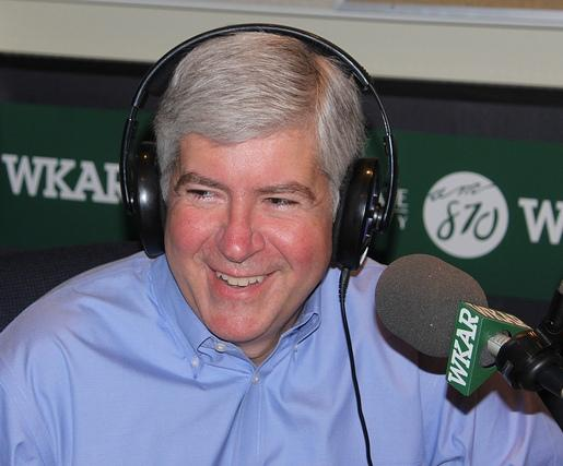 A picture of Michigan Governor Rick Snyder.