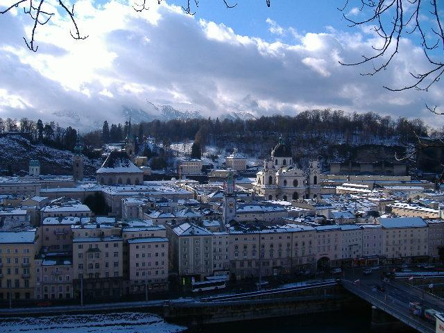 Salzburg morning, January 2006